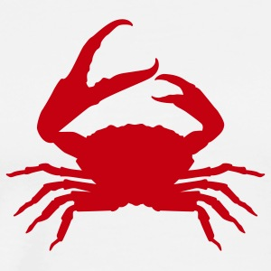 White crab Tanks - Men's Premium T-Shirt