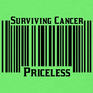 Mint green Surviving Cancer Priceless Baby Body - Men's T-Shirt