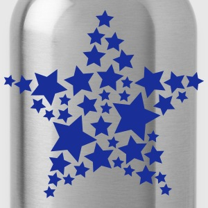 Glow in the Dark Stars - Water Bottle