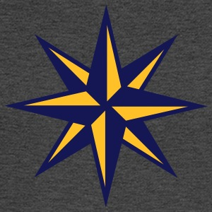 Compass Star - Men's Long Sleeve T-Shirt