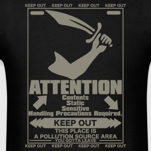 ATTENTION - Men's T-Shirt