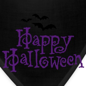 Happy Halloween T-shirt  - Bandana