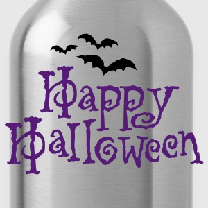 Happy Halloween T-shirt  - Water Bottle