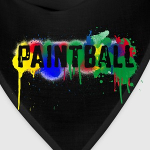 Paintball T-Shirts (Short sleeve) Black - Bandana