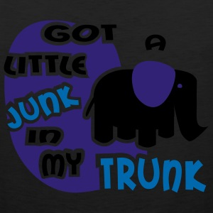 Black Got A Little Junk In My Trunk With Elephant Women's Tees (Short sleeve) - Men's Premium Tank