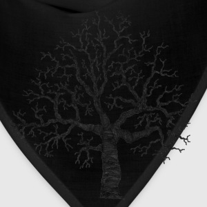 Asphalt Roots Tree Design T-Shirts (Short sleeve) - Bandana