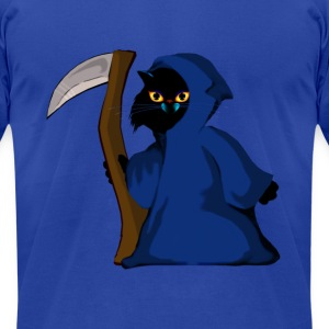 Little Reaper Kitty - Men's T-Shirt by American Apparel