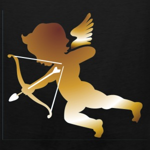 Black Cupid 01 - (dark gold) Hooded Sweatshirts - Men's Premium Tank