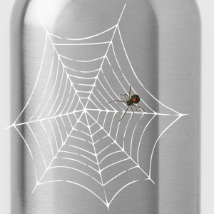 spider web men's lightwieght cotton t-shirt - Water Bottle