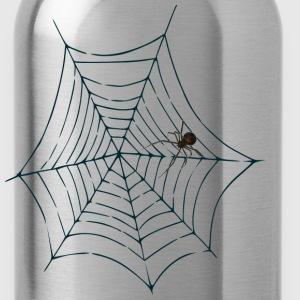Halloween Spider Web men's tee (aa brand) - Water Bottle