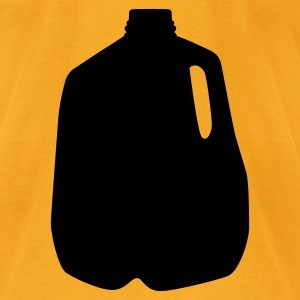 Creme milk jug Bags  - Men's T-Shirt by American Apparel