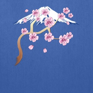 Cherry Blossoms and Mt. Fuji - Tote Bag