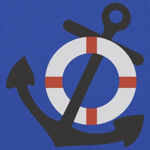 Royal blue Life Saver and Anchor T-Shirts - Kids' Premium Hoodie