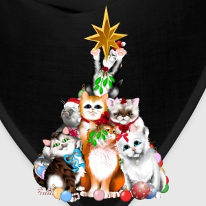 Christmas Tree Kittens - Bandana