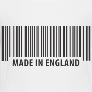 White Made in England Kids Shirts - Toddler Premium T-Shirt