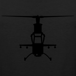 Black chopper T-Shirts - Men's Premium Tank