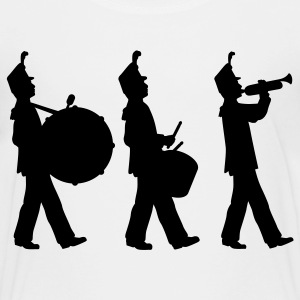 White marching band Kids Shirts - Toddler Premium T-Shirt