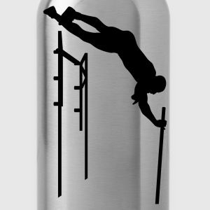 Green pole vaulter Hoodies - Water Bottle