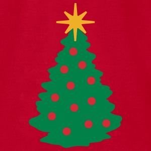 Christmas Tree - Men's T-Shirt by American Apparel