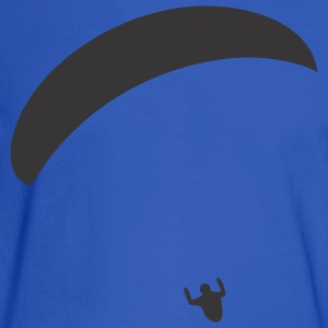 Light blue Paraglider Women's T-shirts - Men's Long Sleeve T-Shirt