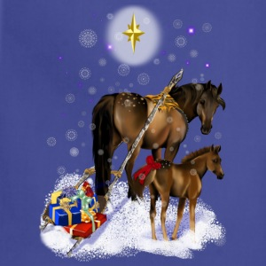 Christmas Mare and Colt - Adjustable Apron