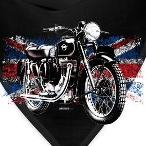 Black Matchless motorcycle - Bandana