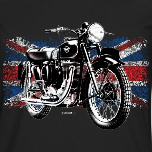 Black Matchless motorcycle - Men's Premium Long Sleeve T-Shirt