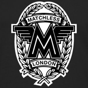 Black Matchless London emblem / AUTONAUT.com T-Shirts - Men's Premium Long Sleeve T-Shirt