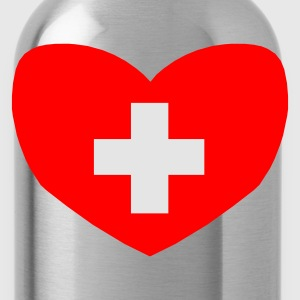 Love Switzerland - Water Bottle