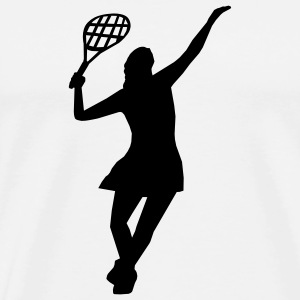 Tennis Girl  - Men's Premium T-Shirt