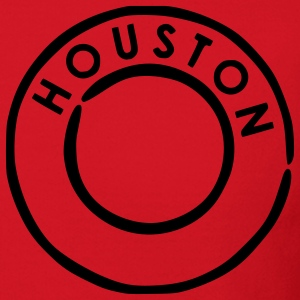 Red Houston Kids Shirts - Crewneck Sweatshirt
