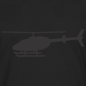 Black Helicopter T-Shirts - Men's Premium Long Sleeve T-Shirt