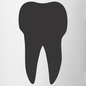 White Tooth T-Shirts - Coffee/Tea Mug