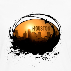 White Graffiti Houston Tees and Hoodies Hoodies - Men's Premium Long Sleeve T-Shirt