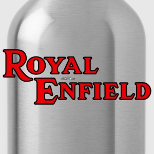 Khaki Royal Enfield - AUTONAUT.com T-Shirts - Water Bottle