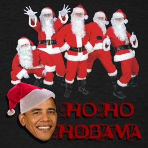 Ho Ho Ho Bama Seasons greetings - Men's T-Shirt