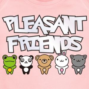 Pleasant_Friends - Short Sleeve Baby Bodysuit