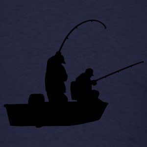 Navy Fishermen Sweatshirts - Men's T-Shirt