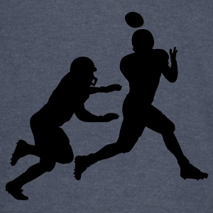 Green Football catch Hoodies - Vintage Sport T-Shirt