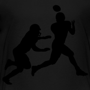 Navy Football catch Kids Shirts - Toddler Premium T-Shirt