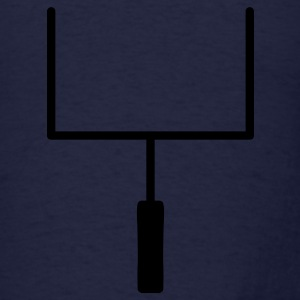 Navy Football Goal Posts Sweatshirts - Men's T-Shirt