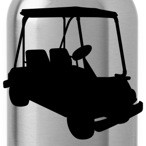 Red Golf cart Kids Shirts - Water Bottle