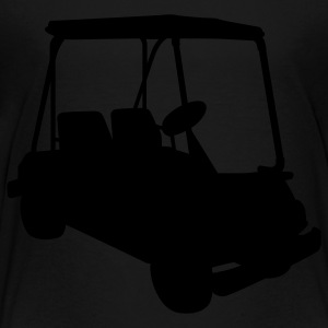 Black Golf cart Sweatshirts - Toddler Premium T-Shirt