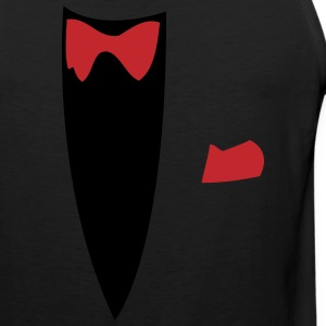 Black Funny Joke Tux Gag T-shirts Long sleeve shirts - Men's Premium Tank
