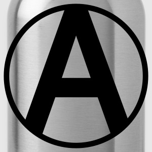 Anarchy Symbol - Water Bottle