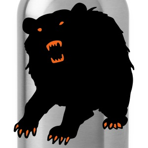 Red Horror Bear Hoodies - Water Bottle
