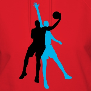 Red basketball players T-Shirts - Women's Hoodie