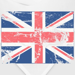 White Vintage British FLAG T-Shirts - Bandana