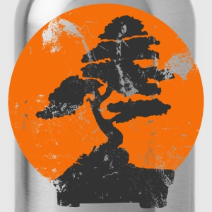 Royal blue Miyagi Banzai Tree Karate Kid Patch T-Shirts - Water Bottle