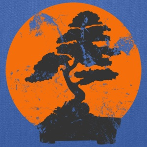 Royal blue Miyagi Banzai Tree Karate Kid Patch T-Shirts - Tote Bag